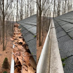 gutter cleaning lawrenceville
