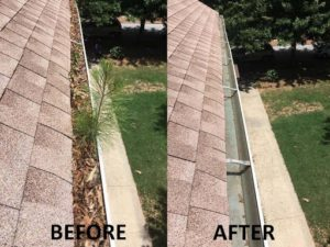gutter cleaning sugar hill